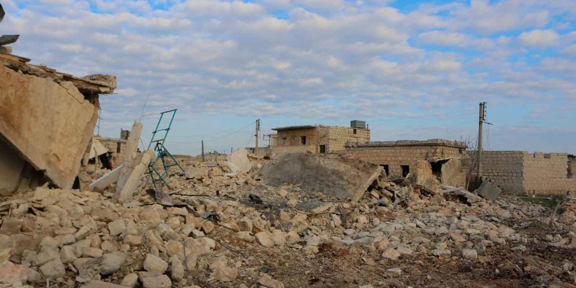 Сирия закрыла воздушное пространство над Идлибом