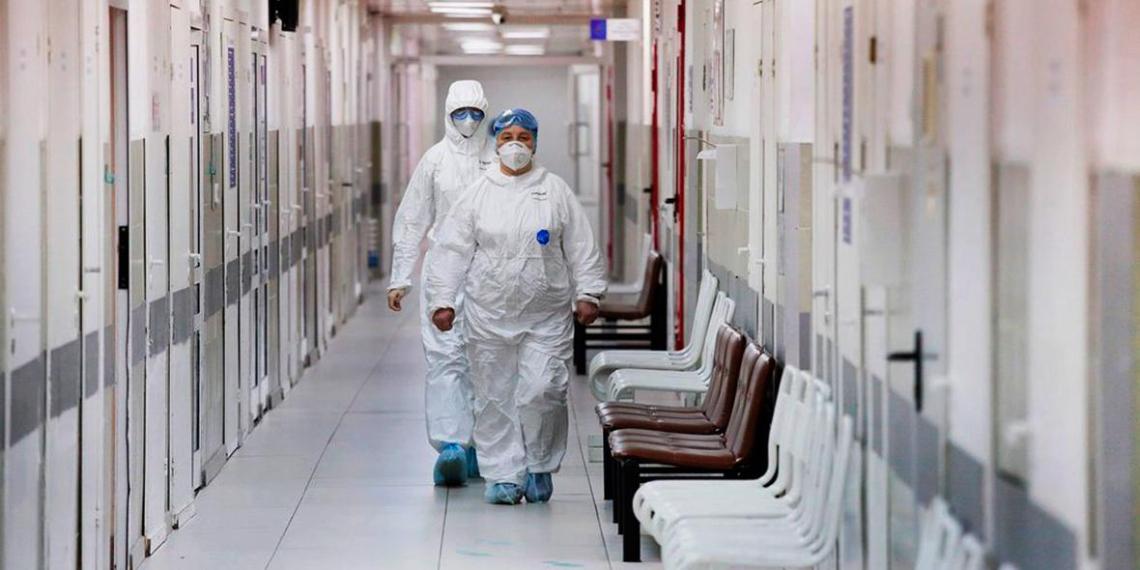 В России выявлены 1786 новых случаев Covid-19