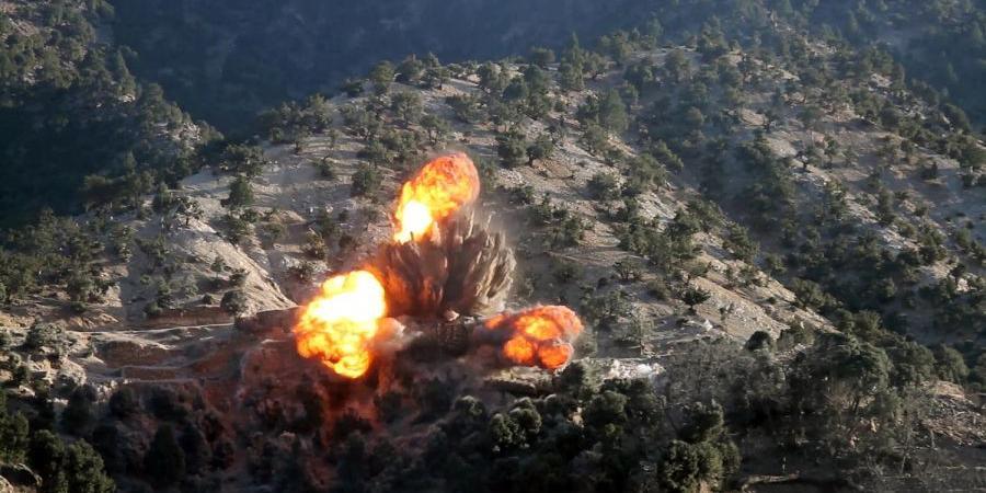 США ведут самые интенсивные бомбардировки Афганистана за последние 10 лет