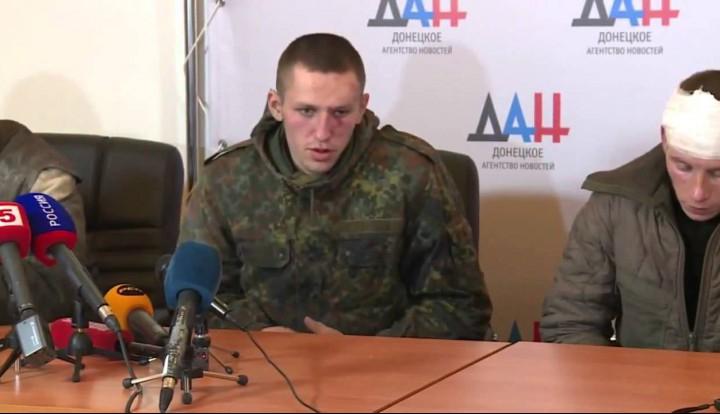 """Пленных """"киборгов"""" провели по Донецку """"маршем позора"""""""