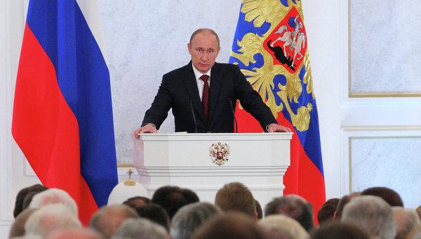 """Путин: Украинская армия - это """"иностранный легион"""" НАТО"""