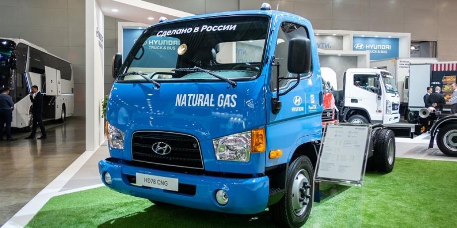 В Калининграде начали выпуск грузовиков на газомоторном топливе