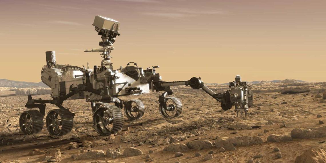 Марсоход Perseverance впервые записал звуки своего лазера