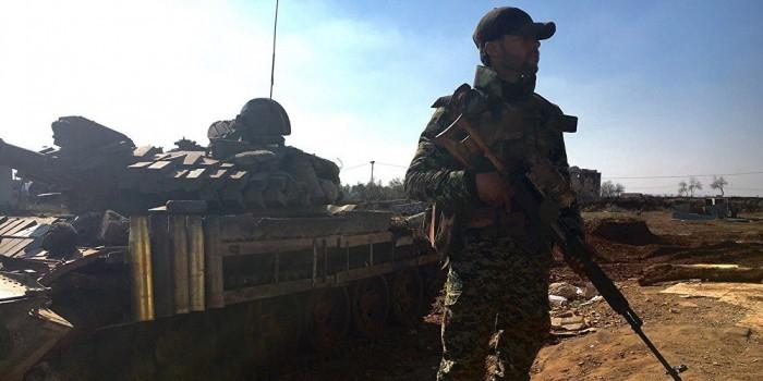 Сирийская армия при поддержке России вошла в провинцию Ракка
