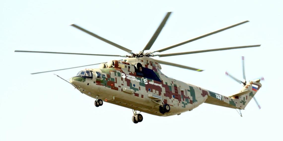 Россия начала госиспытания самого тяжелого вертолета в мире