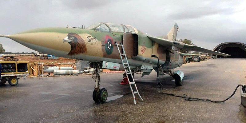 У армии Хафтара в Ливии появились истребители МиГ-29