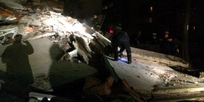 В Ярославле из-за взрыва бытового газа обрушился подъезд жилого дома