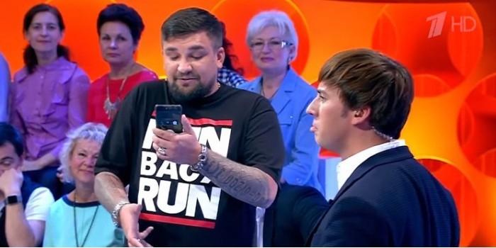 Галкин унизил себя в рэп-баттле с Бастой на Первом канале