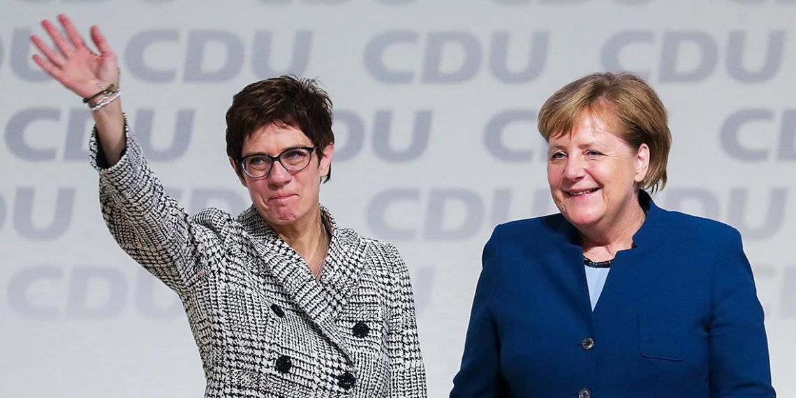 Преемница Меркель не захотела становиться канцлером ФРГ