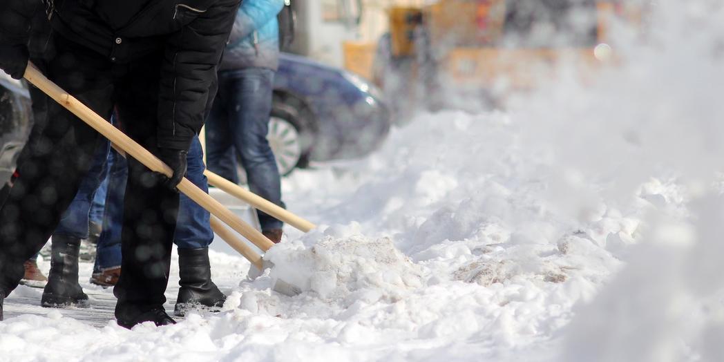 Жителей Улан-Удэ оштрафовали за неправильную уборку снега возле частных домов