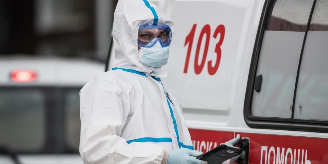 В России за сутки выявили 9035 новых случаев COVID-19
