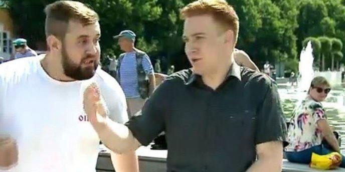 Союз журналистов осудил нападение на репортера НТВ в прямом эфире