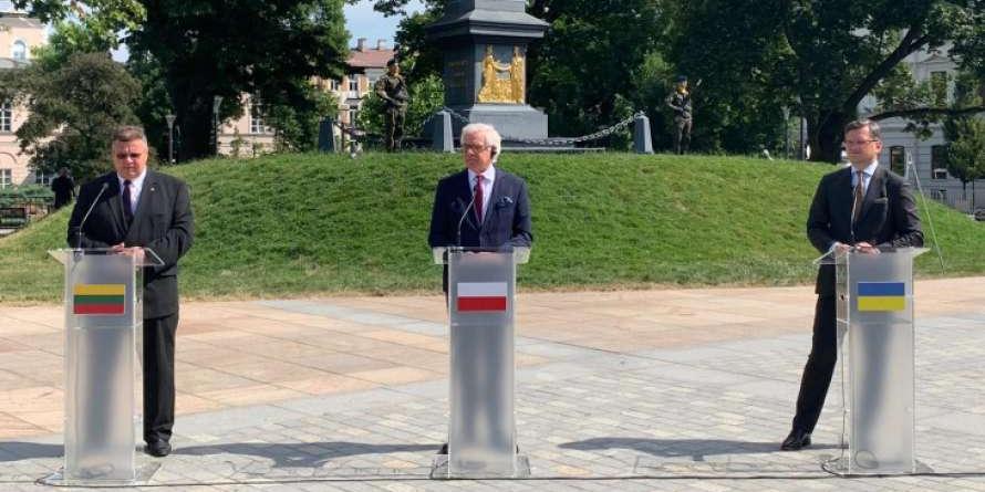 """Польша, Литва и Украина создали """"Люблинский треугольник"""""""