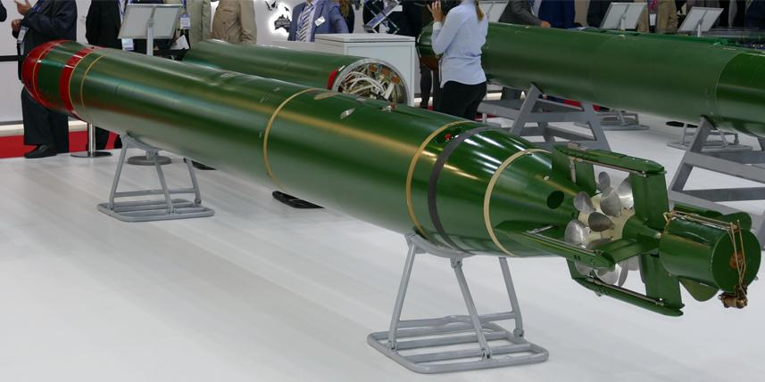 Российский флот получил новые электрические торпеды