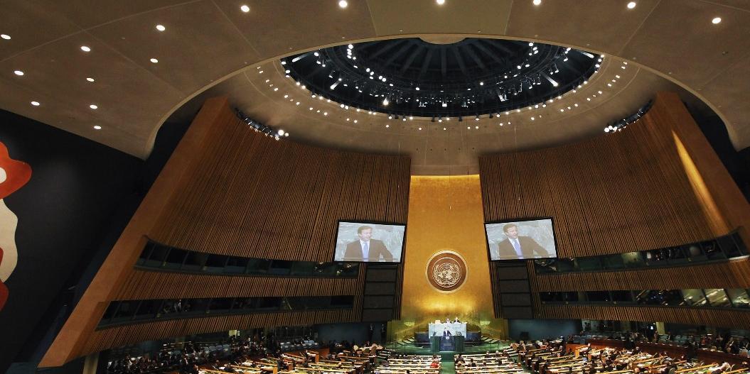 Песков объяснил, почему Путин не поедет на Генассамблею ООН