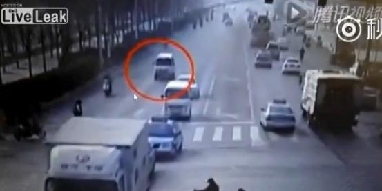 ДТП с летающими автомобилями шокировало Сеть