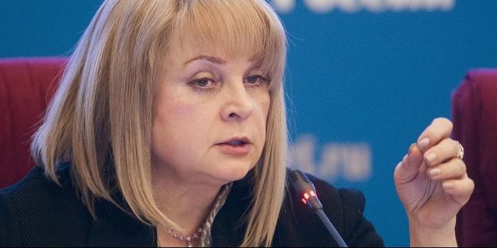 """Памфилова отклонила предложение """"скрыть"""" выборы от иностранных наблюдателей"""