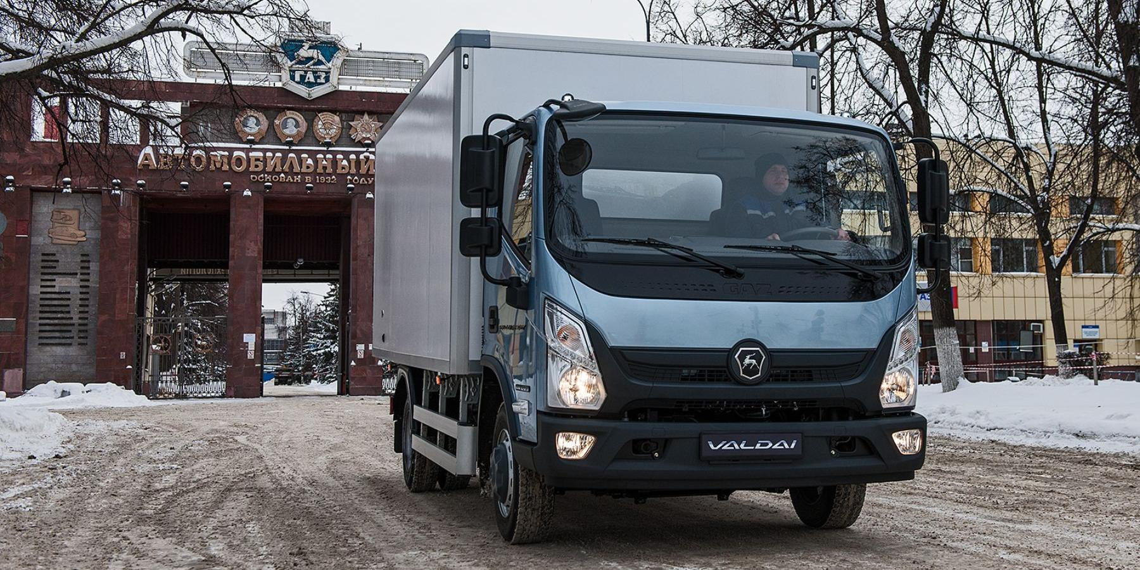 "В Нижнем Новгороде началось производство нового бескапотного грузовика ""Валдай Next"""