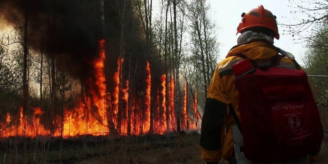 Сводный отряд ФМБА и волонтеров помогут пострадавшим от пожаров жителям Якутии