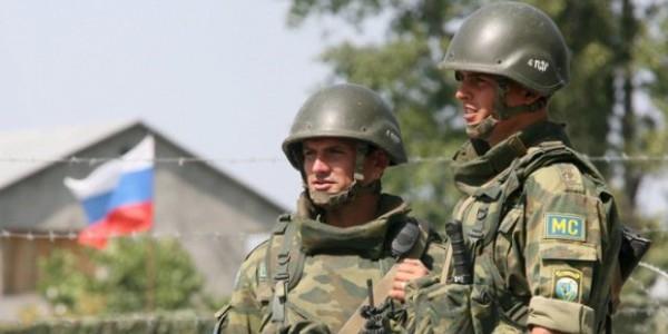 Российские военные провели учения на территории Приднестровья
