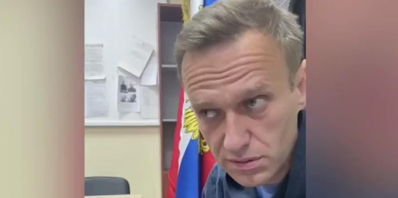 В МВД объяснили выездной формат судебного заседания по Навальному