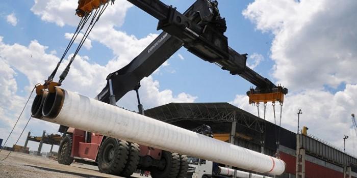 "Построено 220 км морской части газопровода ""Турецкий поток"""