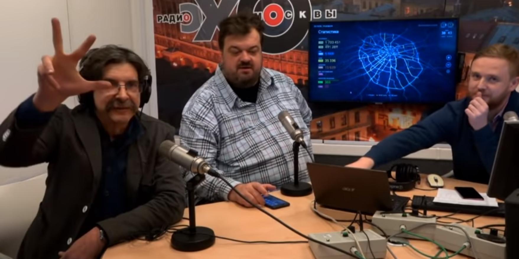"""Замглавреда """"Эхо Москвы"""" извинился за ругань в адрес """"Зенита"""""""