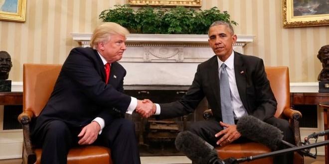 """Обама нарушит негласное правило президентов США, если Трамп """"бросит вызов ценностям"""""""