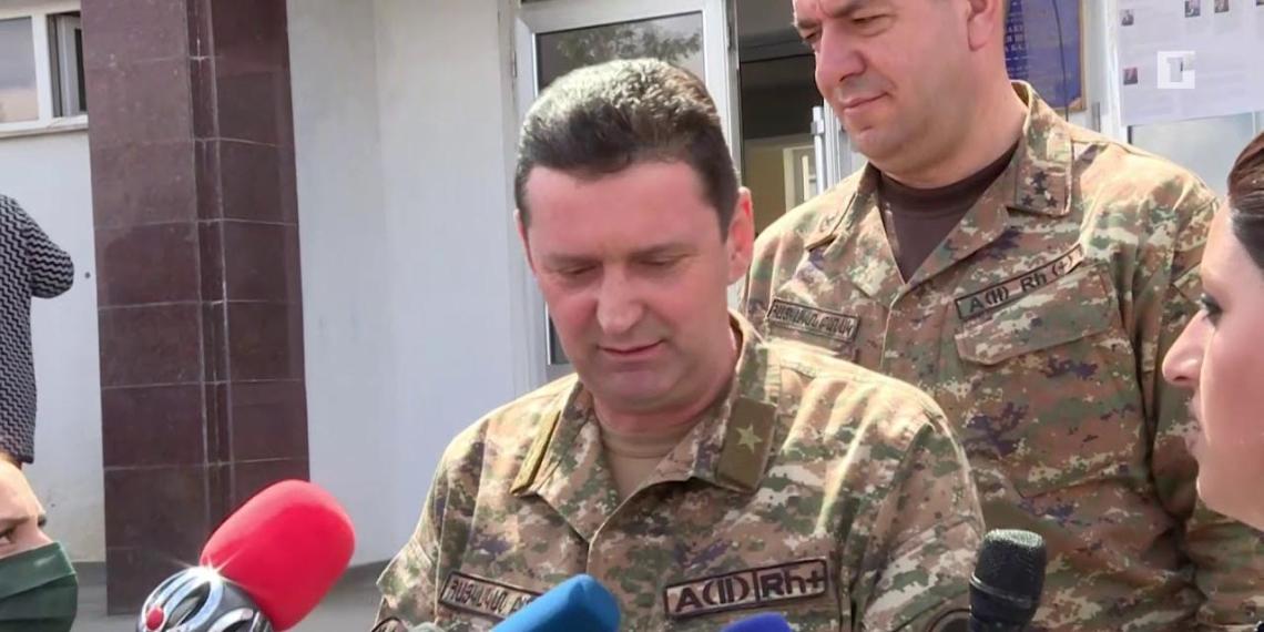 Азербайджан показал видео убийства министра обороны Нагорного Карабаха