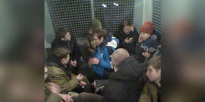 """В """"Роснефти"""" пресеченную акцию протеста нацболов объяснили происками Ходорковского"""