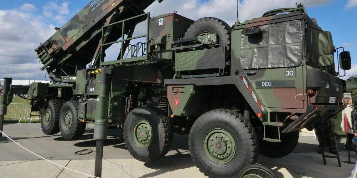 Украина предложила США разместить комплексы Patriot на своей территории