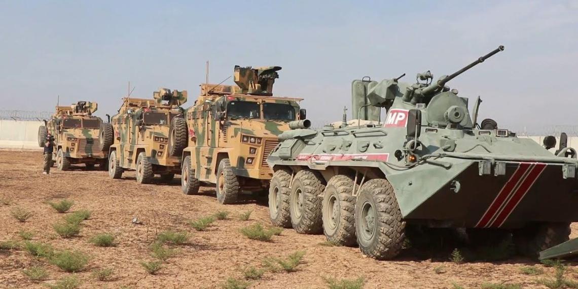 Боевики обстреляли российско-турецкий патруль в Сирии, есть пострадавшие