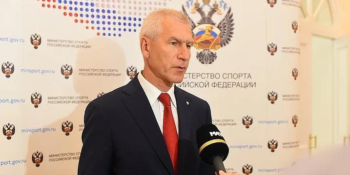 Министр спорта обсудил с представителями общественных организаций мероприятия в поддержку российских олимпийцев