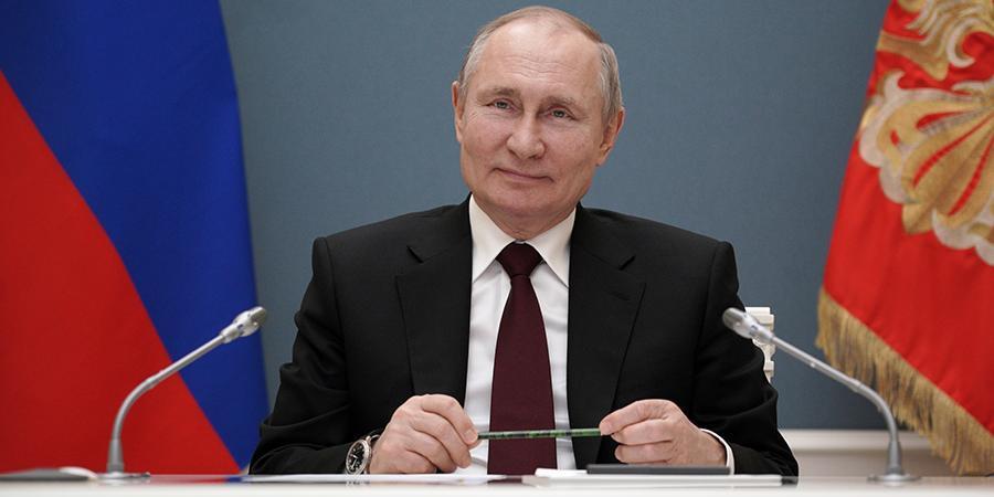 Президент Путин ответил на слова Байдена