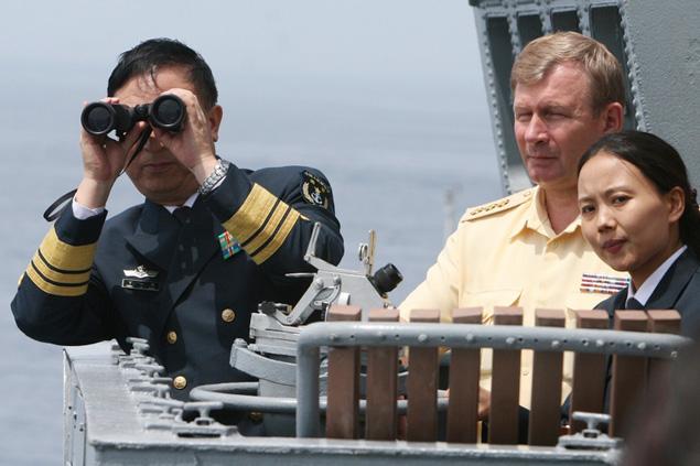 Совместные российско-китайские военные учения «Морское взаимодействие-2014»