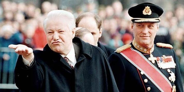 """Познер назвал Ельцина """"русским красавцем"""""""