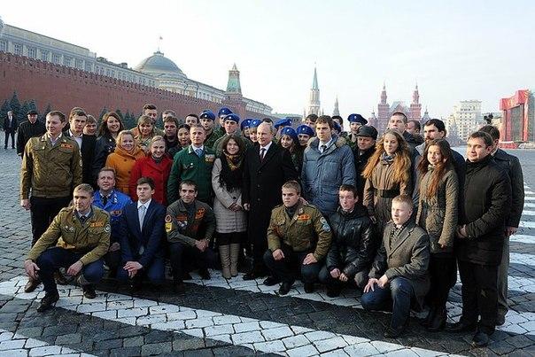 """Путин в День народного единства: """"никакие угрозы не заставят нас отказаться от своих ценностей и идеалов"""""""