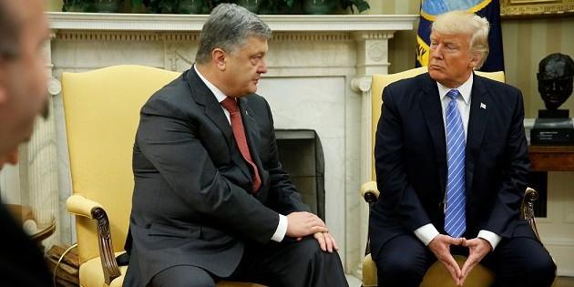 Порошенко рассказал о встрече с Трампом