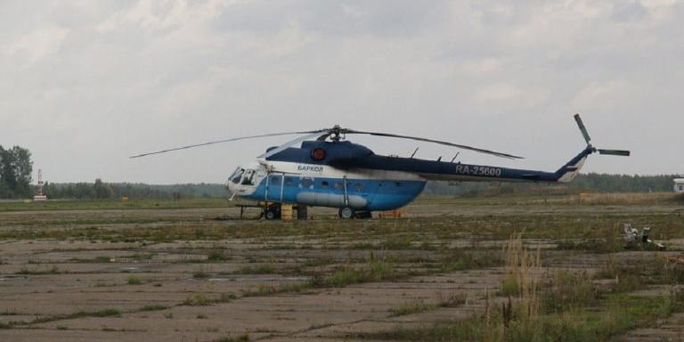 Под Тверью разбился вертолет Ми-8, пилот погиб