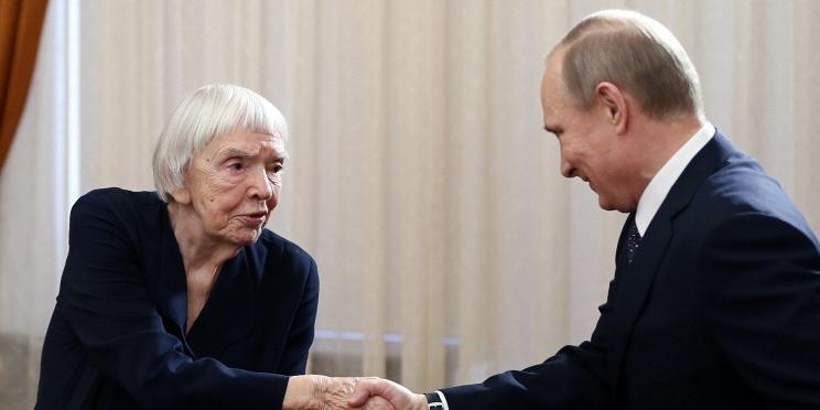 Алексеева удостоена госпремии за правозащитную деятельность