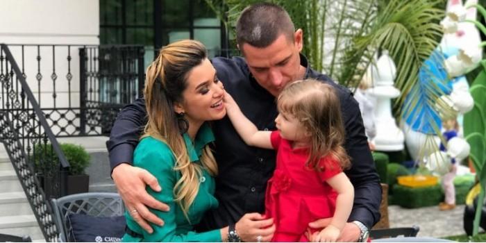 Ксения Бородина впервые показала лицо младшей дочери