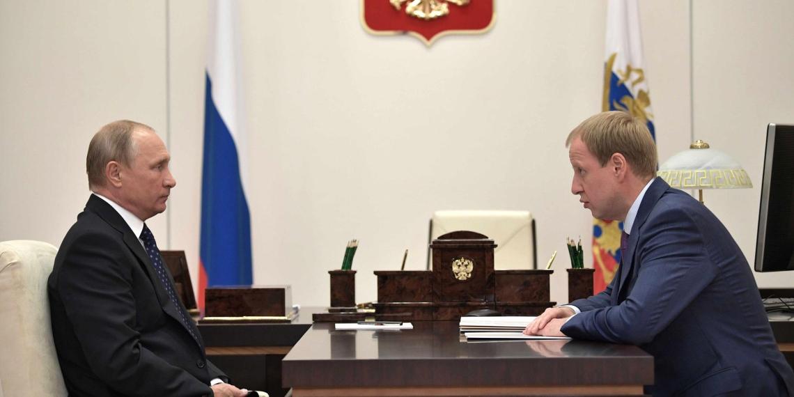 Путин встретился с врио главы Алтайского края