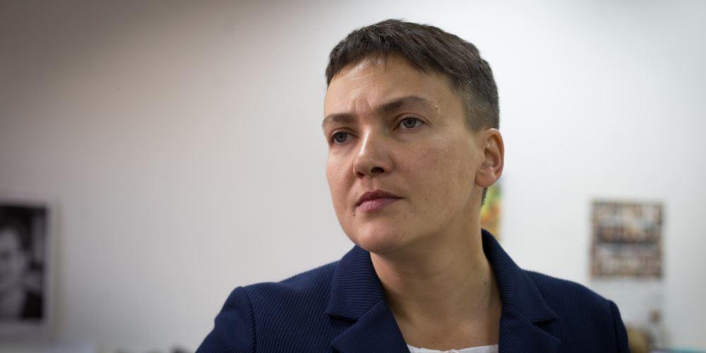 Савченко попросилась обратно в российскую тюрьму