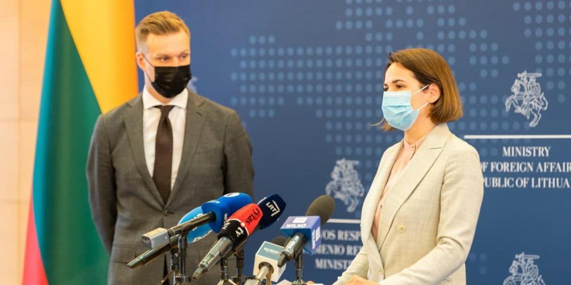 Литва предоставила офису Тихановской дипломатический статус