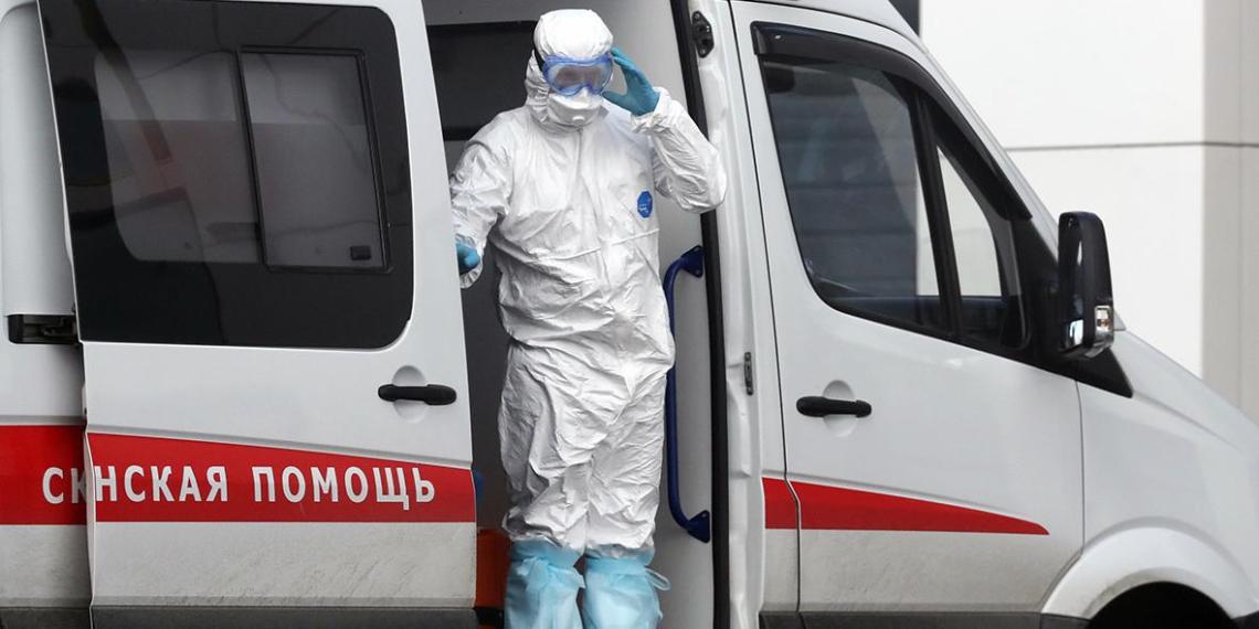 За сутки в России выявили еще 10 581 случай COVID-19
