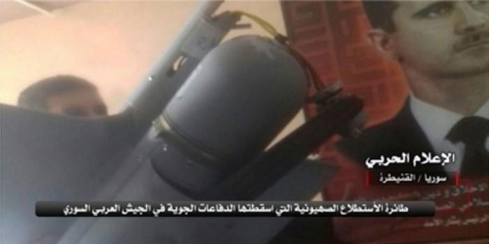 Сирийские ПВО сбили израильский беспилотник над Эль-Кунейтрой