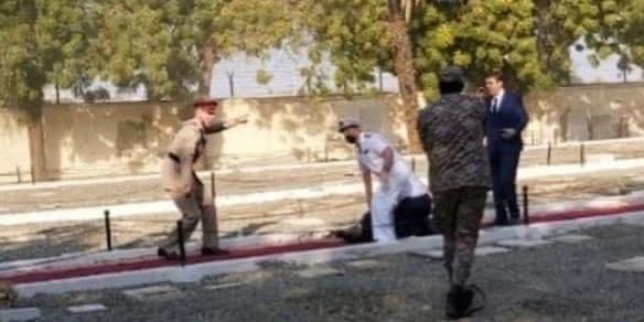 В Саудовской Аравии на официальной церемонии с участием представителей Евросоюза прогремел взрыв