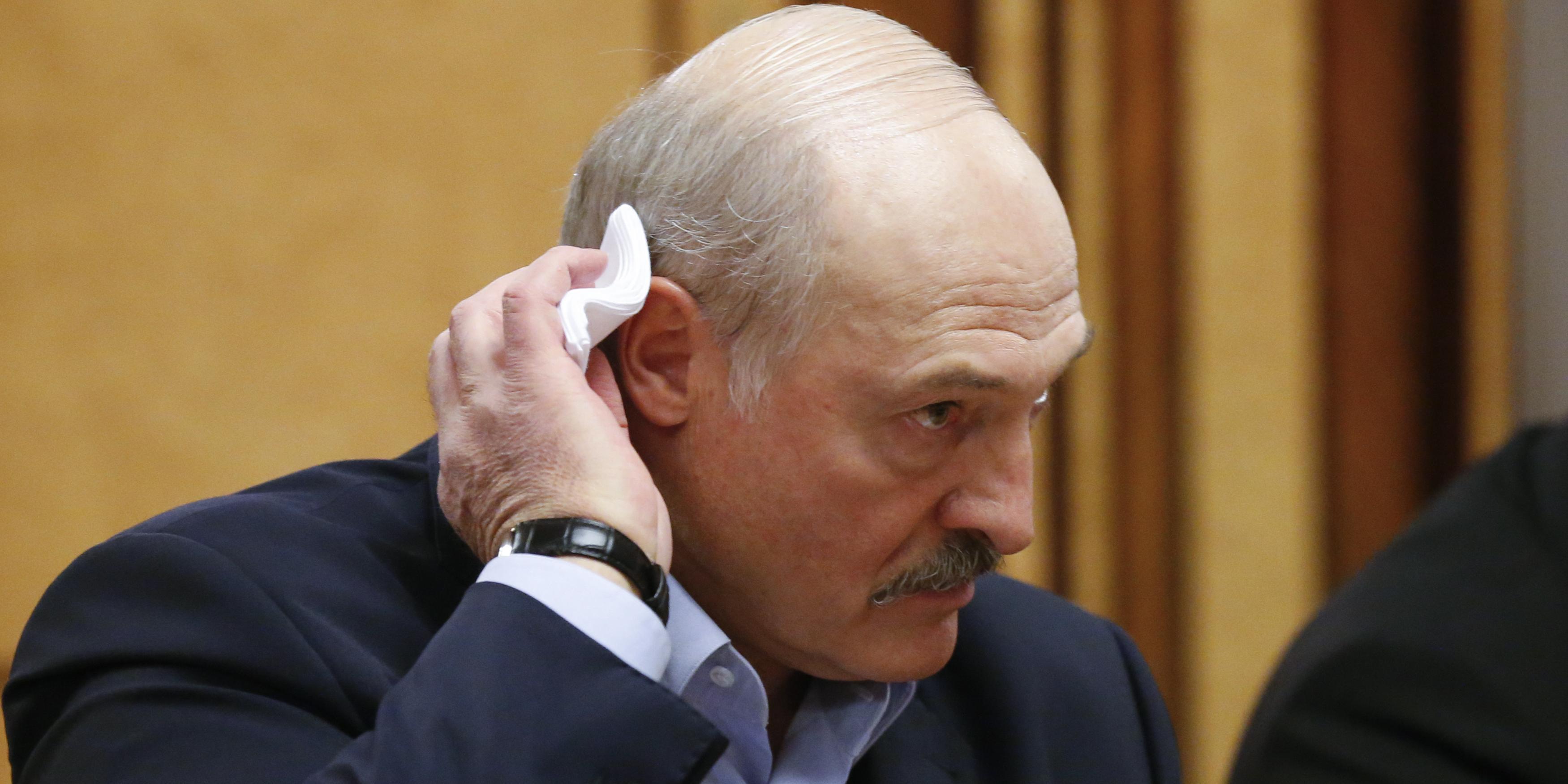 """Лукашенко внесли в базу украинского сайта """"Миротворец"""""""
