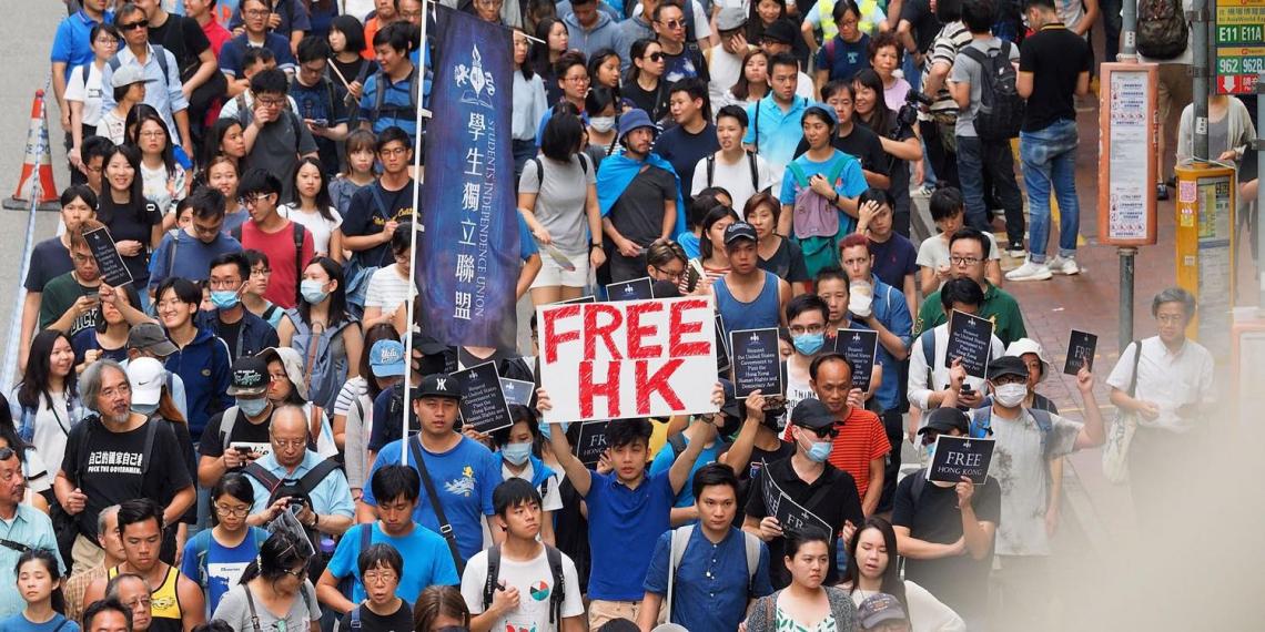 """Трамп пообещал """"мощный ответ"""" на попытки Китая ограничить автономию Гонконга"""