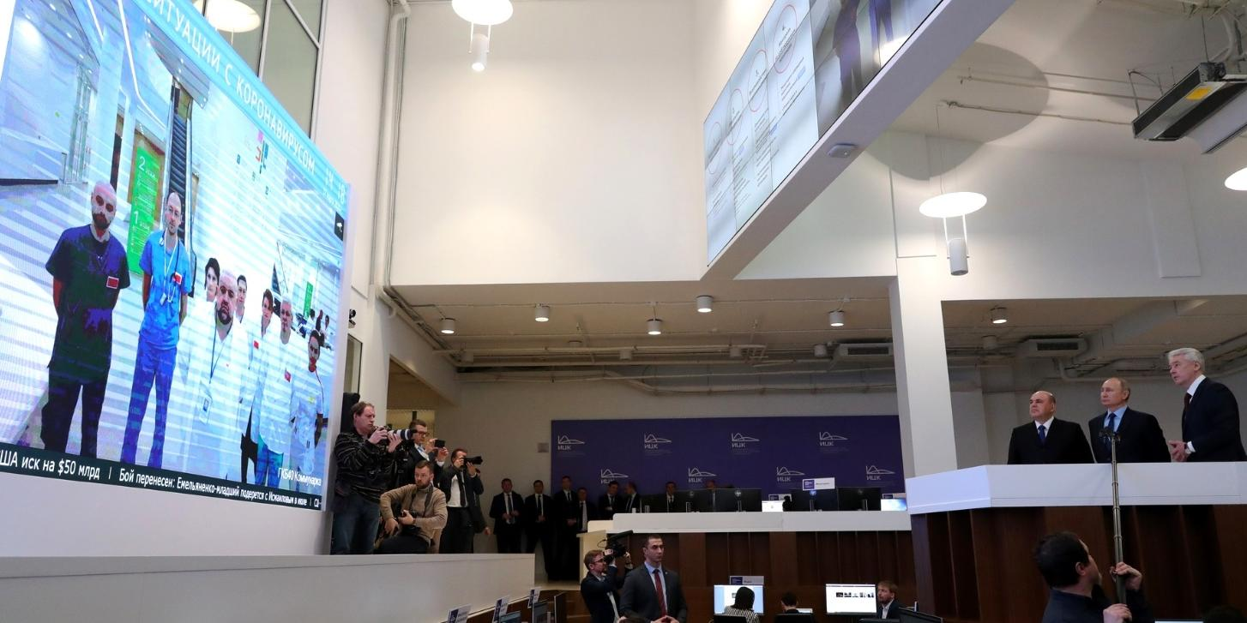 Путин о коронавирусе: ситуация в РФ находится под контролем